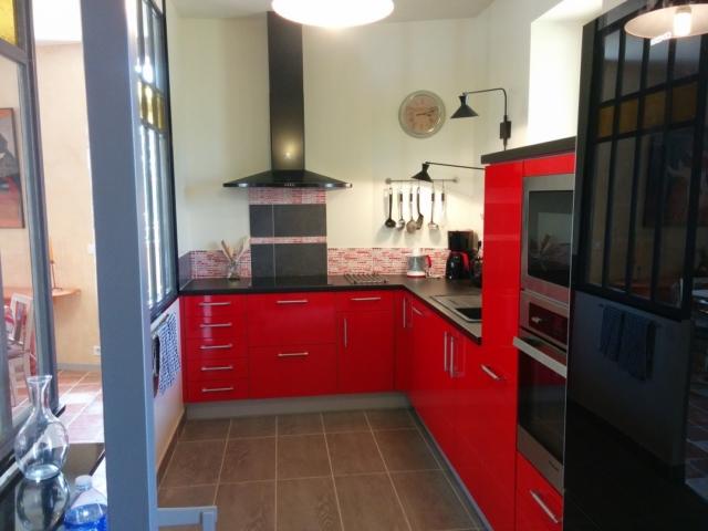 Une cuisine fonctionnelle et moderne