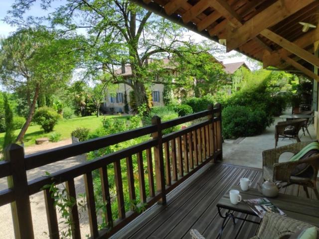 La terrasse au dessus du Jardin
